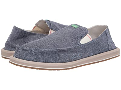Sanuk Pick Pocket Chambray (Indigo Chambray) Men