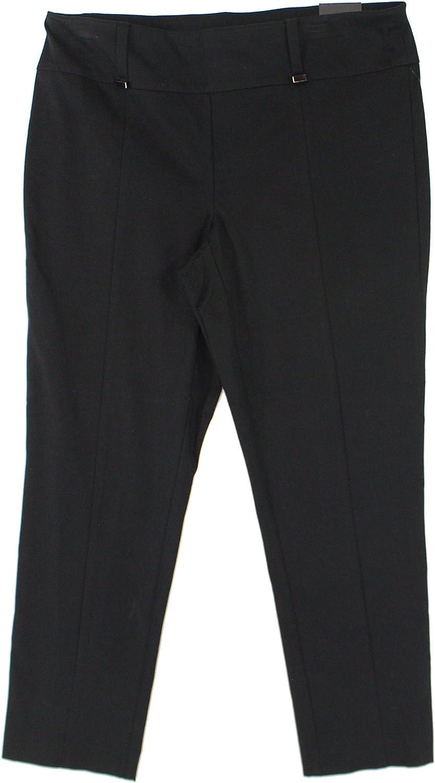 Alfani Womens HardwareDetail Casual Trousers