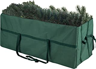 Elf Stor Green Christmas Storage Bag-For 9 FT Artificial Trees-Quality Canvas & Binding Straps-Protects Holiday Decoration...