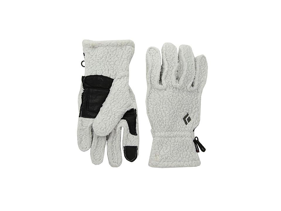 Black Diamond YetiWeight Fleece Gloves (Aluminum) Outdoor Sports Equipment