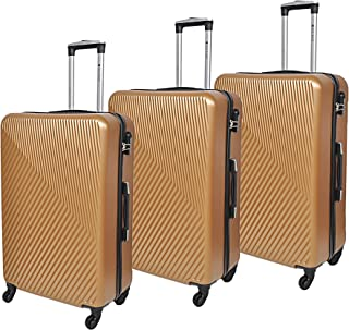 New Travel 0147/3P ABS spinner luggage, 75 cm