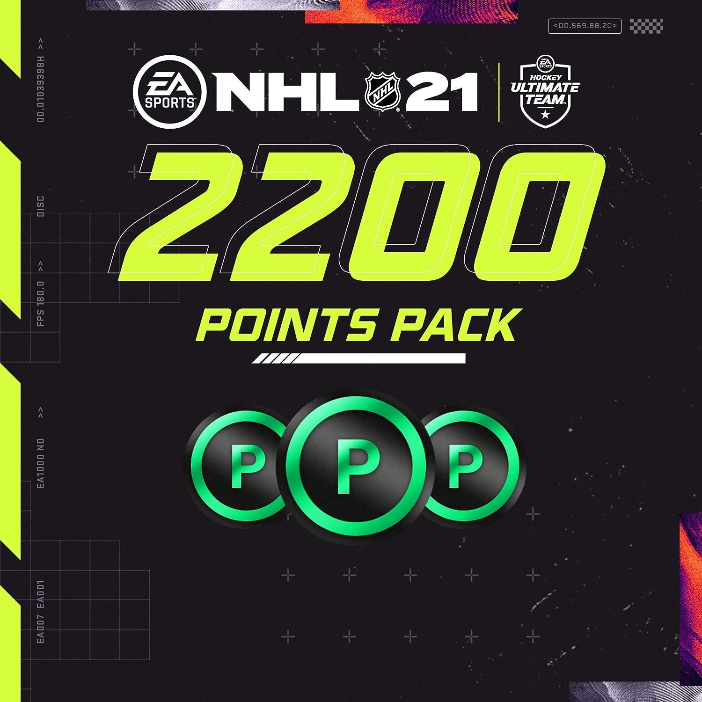 NHL 21 2200 HUT Points - PS4 [Digital Code]