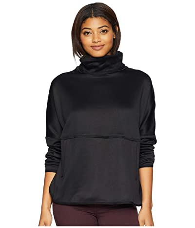 The North Face Cozy Slacker Poncho (TNF Black) Women