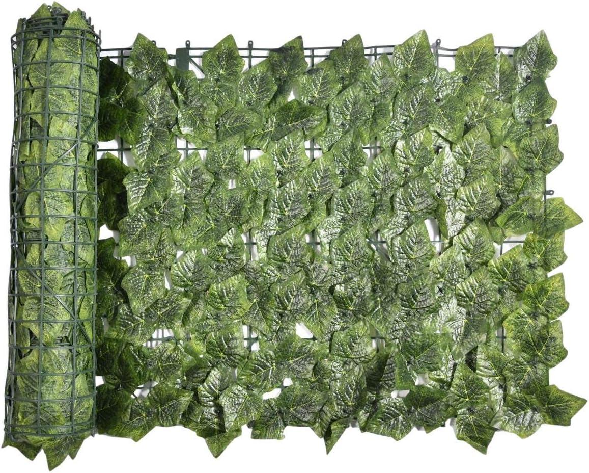IMSHIE Artificial Leaf Fence Max 61% OFF Gard Net Balcony San Jose Mall