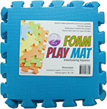 123-Wholesale - Set of 10 Interlocking Foam Play Mat - Games Puzzles