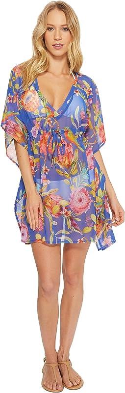 Echo Design Melba Floral Silky Caftan