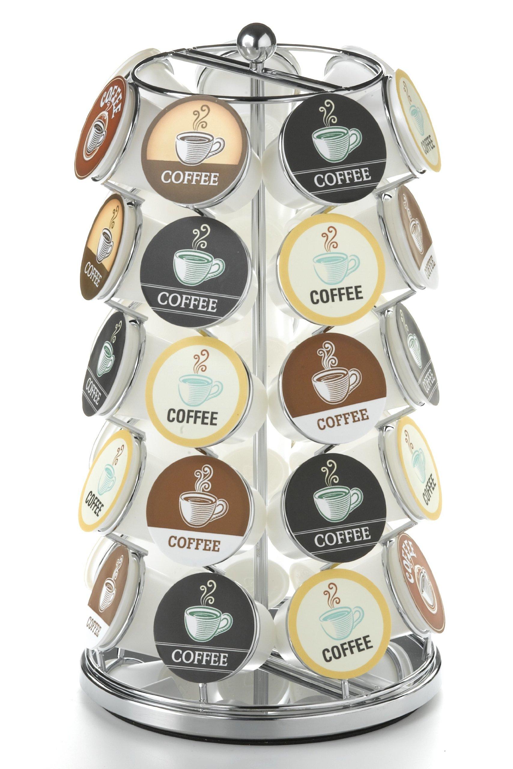 Nifty K Cup Carousel Chrome K Cups