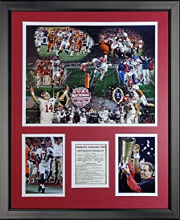 Legends Never Die NCAA 2015 National Champions Collage Framed Photo Collage