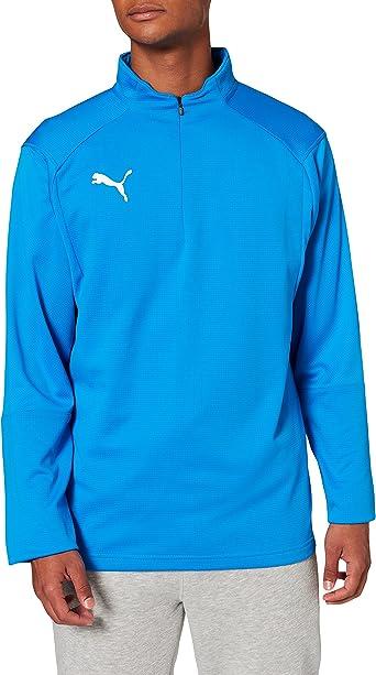 TALLA L. Puma Liga Training 1/4 Zip Top T-Shirt, Hombre