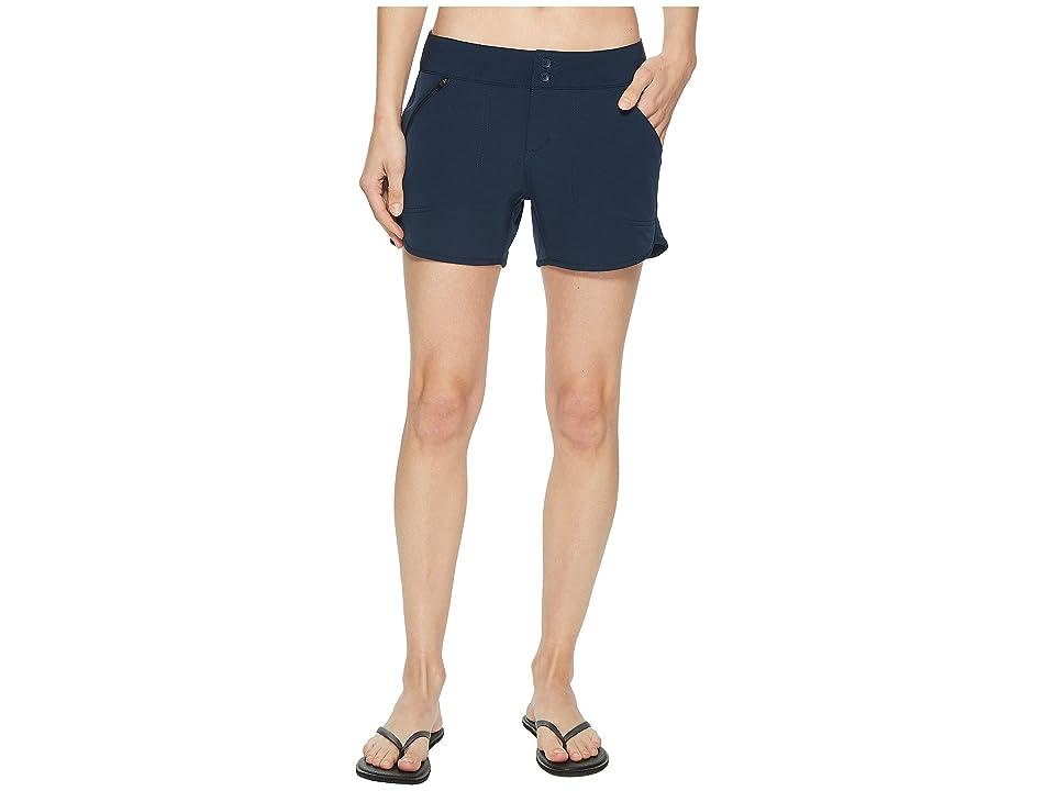 Royal Robbins Water Shorts (Deep Blue) Women