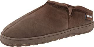 MUK LUKS Men's Printed Berber Clog Sock