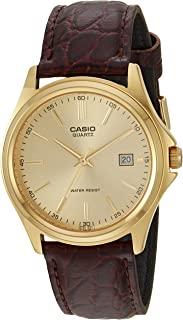 Casio Core Men'S Leather Band Watch