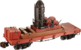 Bachmann Industries Log Skidder with Crate on 20' Log Car - Large
