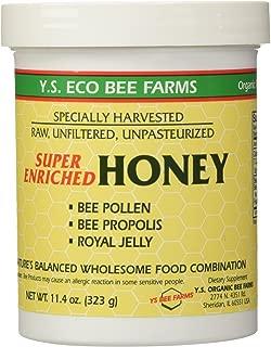 Enriched Honey YS Eco Bee Farms 11.4 Ounce (323 grams)