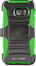Galaxy S6 Edge Plus Case, BUDDIBOX [HSeries] Heavy Duty Swivel Belt Clip Holster with Kickstand Maximal Protection Case for Samsung Galaxy S6 Edge+, (Green)