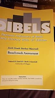 Dibels sixth grade student materials benchmark assessment