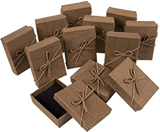 Gift Box Set - 12-Piece Jewelry Gift Boxes for Rings, Pendants, Necklaces - Ideal for Anniversaries, Weddings, Birthdays -...