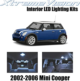 XtremeVision Interior LED for Mini Cooper 2002-2006 (7 Pieces) Cool White Interior LED Kit + Installation Tool