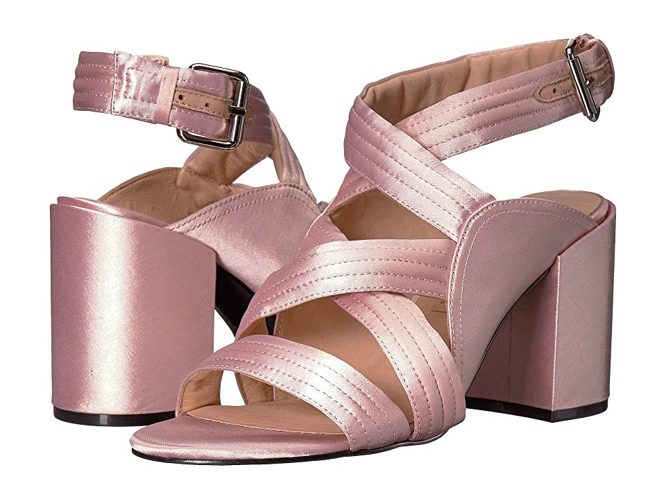 Sol Sana Gabby Heel (Light Pink Satin) High Heels
