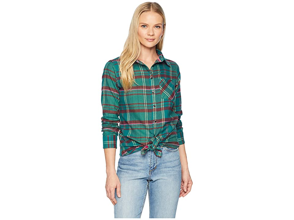 Mountain Khakis Penny Plaid Tunic Shirt (Deep Sea) Women