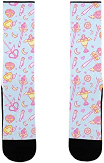 LookHUMAN Sailor Moon Weapons US Size 7-13 Socks