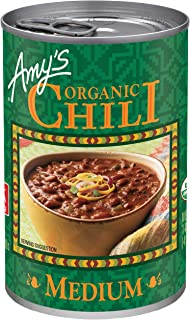 Amy's Organic Medium Chili, Vegan, 14.7-Ounce (pack of 12)