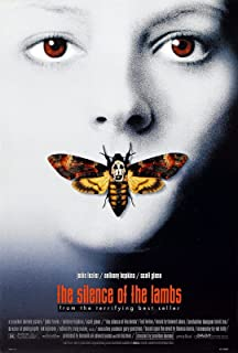 THE SILENCE OF THE LAMBS Movie Poster RARE Hannibal Lecter Anthony Hopkins 24x36 inch