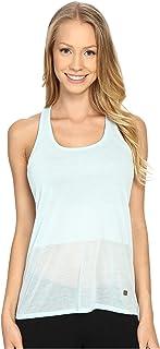 قميص حريمي بدون أكمام مطبوع عليه كلمة Burnout من ASICS