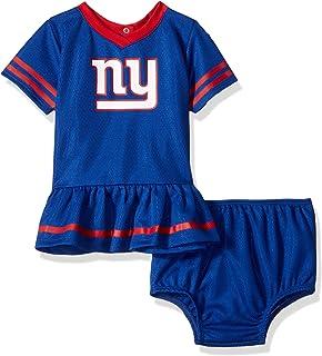 246020d18 NFL New York Giants Baby-Girls 2-Piece Football Dress Set, Blue,