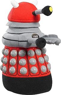 Doctor Who - Talking Red Dalek Plush, Medium, 9-inch Tall