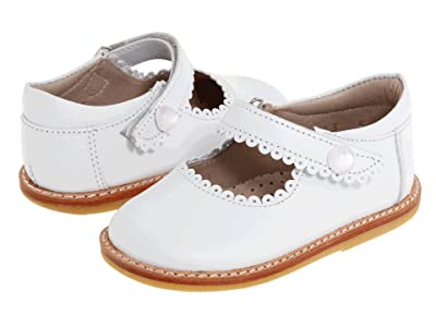 Elephantito Mary Jane (Toddler) (White) Girls Shoes