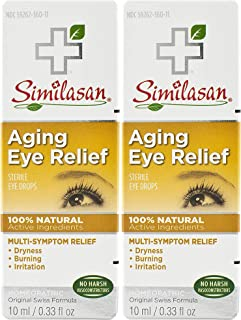 Similasan Aging Eye Relief Eye Drops, 2 Count