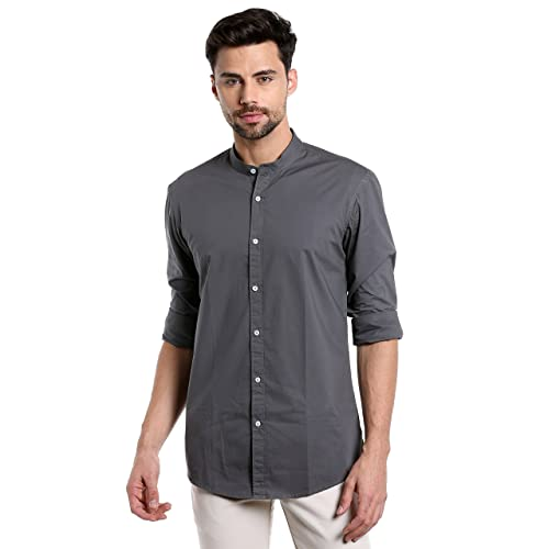 Chinese Collar Shirts  Buy Chinese Collar Shirts Online at Best ... 83fa12261