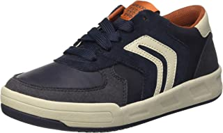 Geox Sneakers J Rolk B Boys Suede Lace Up Shoes