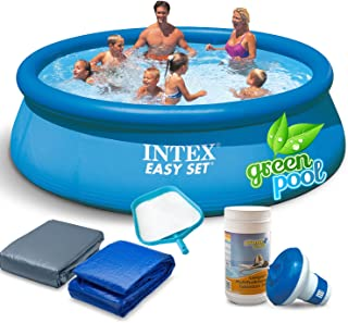 Juego Pool con accesorios 366 x 76 cm Quick Up Piscina Intex 28130