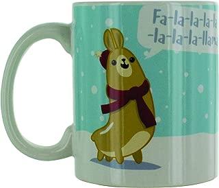 Paladone FA La La Llamas Coffee Mug - Cute Holiday Coffee Cup