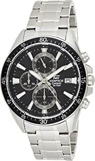 Casio Mens Quartz Watch, Chronograph Display and Stainless Steel Strap EFR-546D-1AVUDF