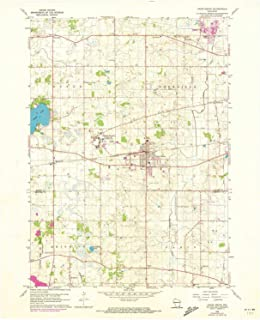 YellowMaps Union Grove WI topo map, 1:24000 Scale, 7.5 X 7.5 Minute, Historical, 1960, Updated 1973, 27.32 x 22.54 in