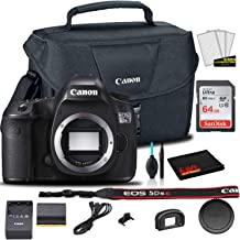 Canon EOS 5DS R DSLR Camera (Body Only) (0582C002) + Canon EOS Bag + Sandisk Ultra 64GB Card + Cleaning Set and More (International Model)