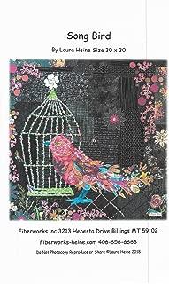41 x 42 Flaura Vintage Trailer Collage Applique Quilt Pattern by Laura Heine from Fiberworks Inc LHWFLAURA