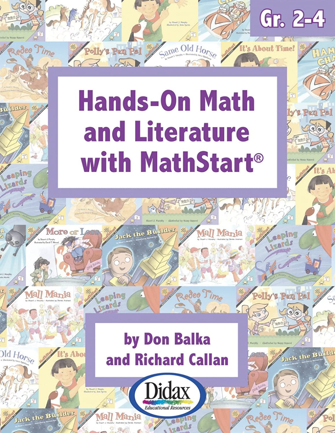 Didax Educational Resources Hands-on Math & Lit with Math start, Gr. 2-4