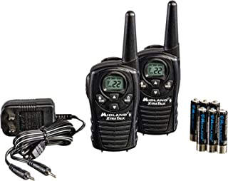 Midland – LXT118VP, 22 Channel FRS Two-Way Radio with Channel Scan – Up to 18..