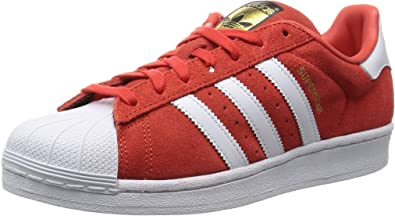 adidas Superstar Suede, Chaussures de Basketball homme, Rouge, 37 ...
