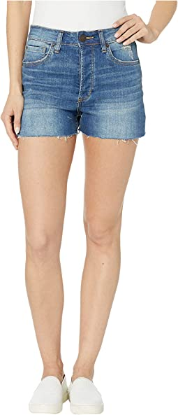 Kate High-Rise Shorts in West Lazy Daze