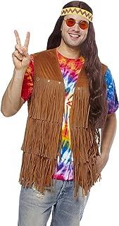 Franco Fringe Hippie Vest Mens