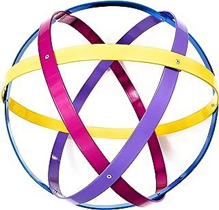 Genesa Crystal, Purificatore energia, Genesacolor 32 cm diametro, giallo-fucsia-viola-azzurro