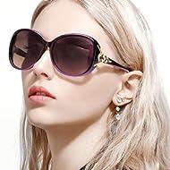 FIMILU Classic Oversized Sunglasses for Women, HD Polarized Lenses 100% UV400 Protection Fashion...