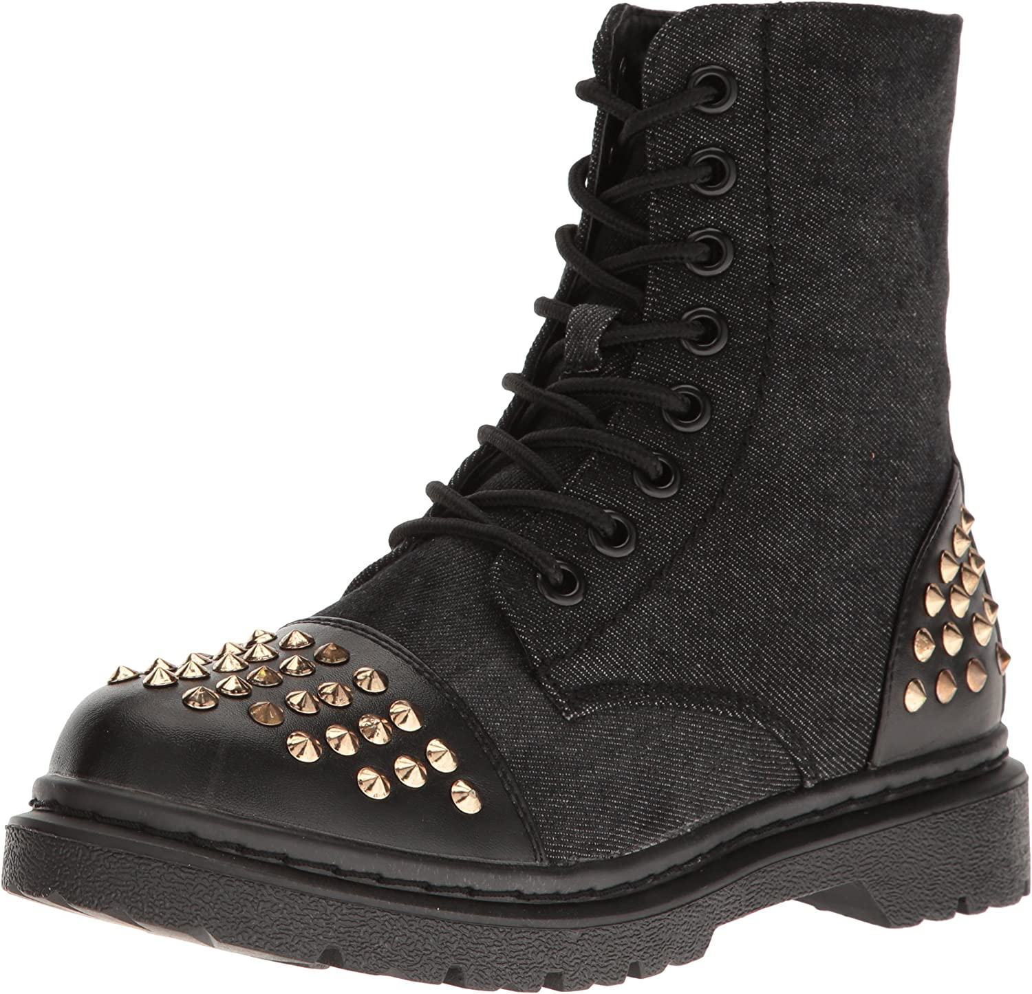 Gia-Mia Dancewear Womens Women's Rock Star Studded Boot Combat Boot