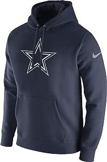 Dallas Cowboys NFL Mens Nike Logo Club Fleece Sweatshirt