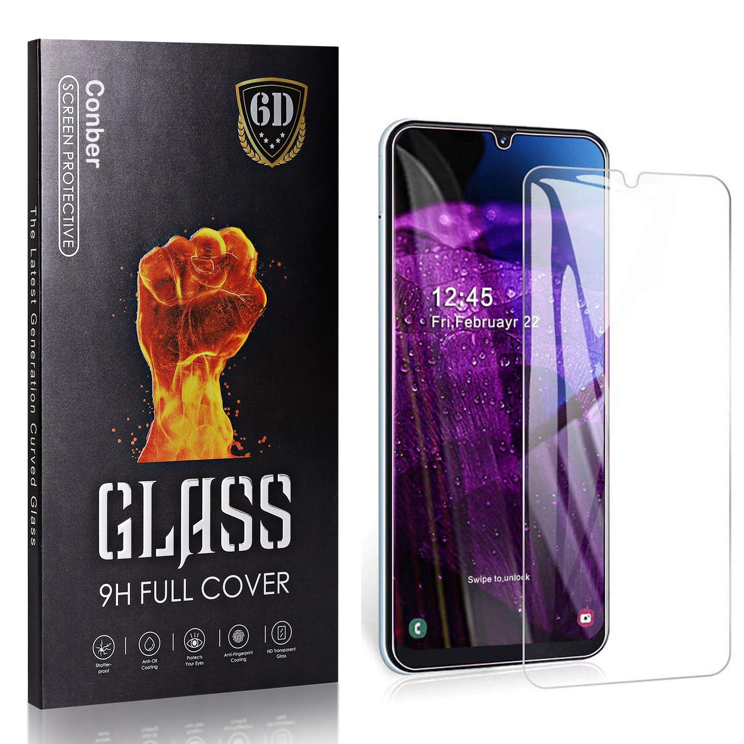 Conber 4 Pack Screen Protector for Temper A30S 5 ☆ very 70% OFF Outlet popular Samsung Galaxy